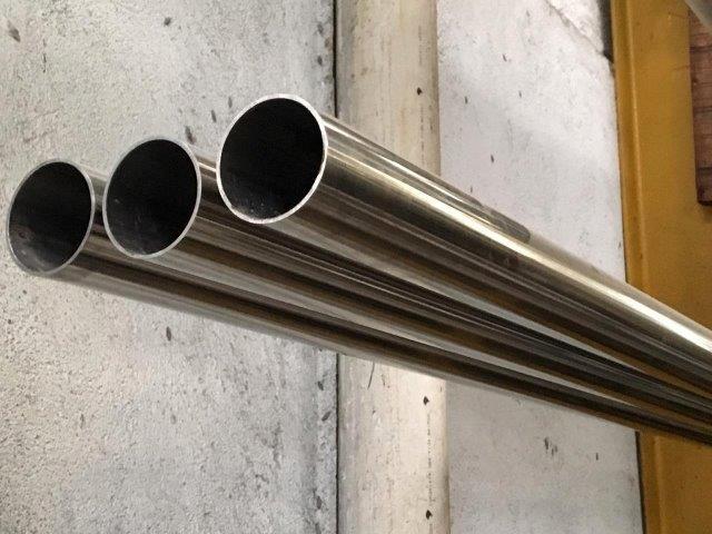 Tubo de aço inox